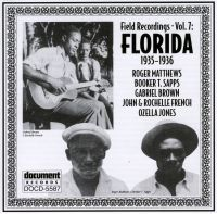 Field Recordings Vol 7 Florida 1935 - 1936