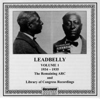 Leadbelly Vol 1 1934 - 1935