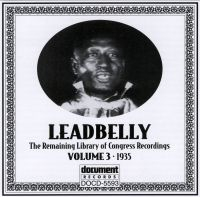 Leadbelly Vol 3 1935