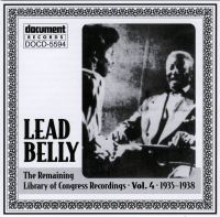 Leadbelly Vol 4 1935 - 1938