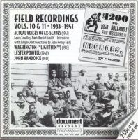 Field Recordings Vol 10 / 11 1933 - 1941