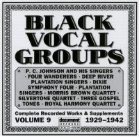 Black Vocal Groups Vol 9 1929 - 1942