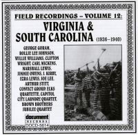 Field Recordings Vol 12 1936 - 1940