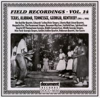 Field Recordings Vol 14 1934 - c. 1950