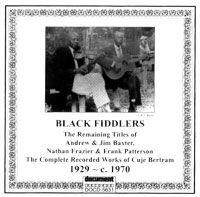Black Fiddlers 1929 - c.1970