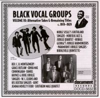 Black Vocal Groups Vol 10 c. 1919 - 1929