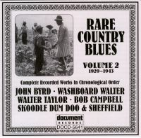 Rare Country Blues Vol 2 1929 - 1943