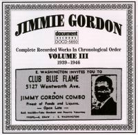 Jimmie Gordon Vol 3 1939 - 1946