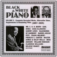 Black & White Piano Vol 3 1897 - 1929