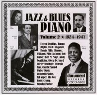 Jazz & Blues Piano Vol 2 1924 - 1947