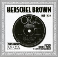 Herschel Brown 1928 - 1929