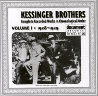 Kessinger Brothers Vol 1 1928 - 1929