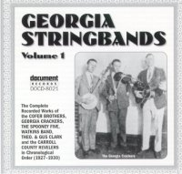 Georgia String Bands Vol 1 1927 - 1930