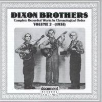 The Dixon Brothers Vol 2 1937