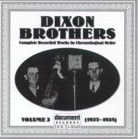 The Dixon Brothers Vol 3 1937 - 1938