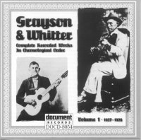 Grayson & Whitter Vol 1 1927 - 1928