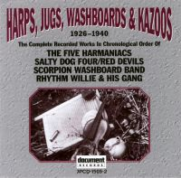 Harps, Jugs, Washboards & Kazoos 1926 - 1940
