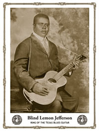 Blind Lemon Jefferson Poster