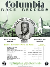 Blind Willie Johnson Poster